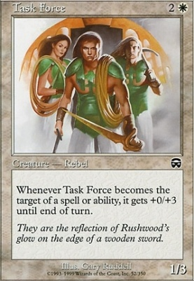 Mercadian Masques Foil: Task Force