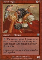 Mercadian Masques: Warmonger