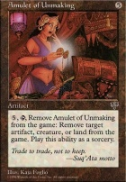 Mirage: Amulet of Unmaking