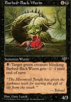 Mirage: Barbed-Back Wurm