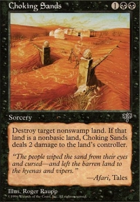Mirage: Choking Sands
