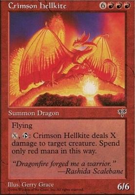 Mirage: Crimson Hellkite