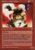Mirage: Emberwilde Djinn