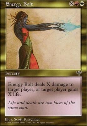 Mirage: Energy Bolt