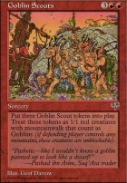Mirage: Goblin Scouts
