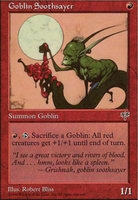 Mirage: Goblin Soothsayer