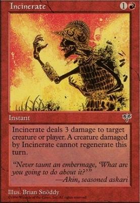 Mirage: Incinerate