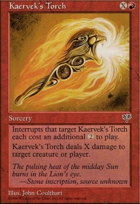 Mirage: Kaervek's Torch