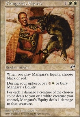 Mirage: Mangara's Equity