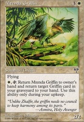 Mirage: Mtenda Griffin