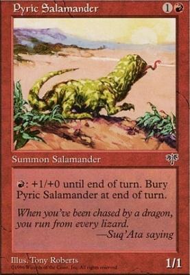 Mirage: Pyric Salamander