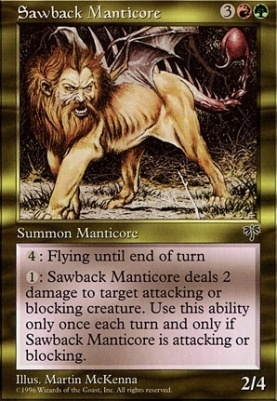 Mirage: Sawback Manticore