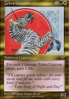 Mirage: Zebra Unicorn