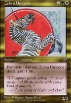 Mirage: Zebra Unicorn