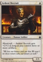 Mirrodin Besieged Foil: Ardent Recruit