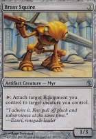Mirrodin Besieged Foil: Brass Squire