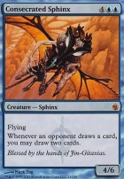 Mirrodin Besieged: Consecrated Sphinx