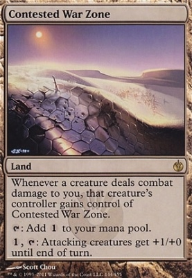 Mirrodin Besieged: Contested War Zone