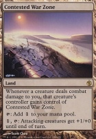 Mirrodin Besieged Foil: Contested War Zone