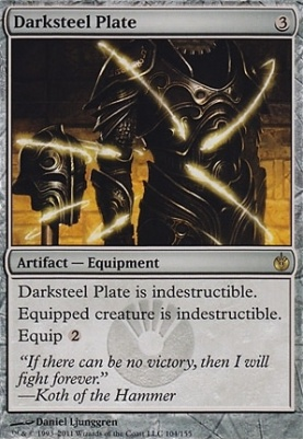 Mirrodin Besieged: Darksteel Plate