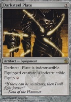 Mirrodin Besieged Foil: Darksteel Plate