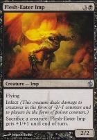 Mirrodin Besieged Foil: Flesh-Eater Imp