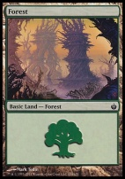 Mirrodin Besieged Foil: Forest (154 A)