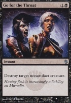 Mirrodin Besieged Foil: Go for the Throat