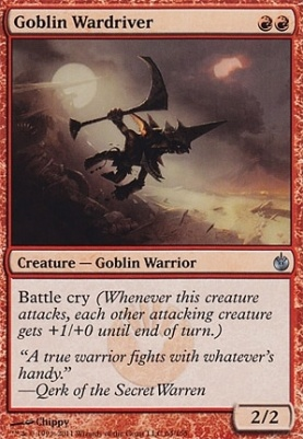 Mirrodin Besieged: Goblin Wardriver