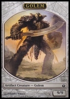 Mirrodin Besieged: Golem Token