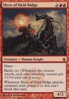 Mirrodin Besieged Foil: Hero of Oxid Ridge