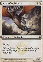 Mirrodin Besieged Foil: Leonin Skyhunter