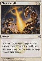 Mirrodin Besieged Foil: Master's Call