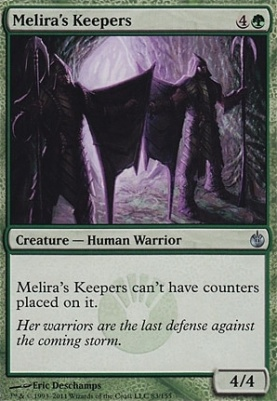 Mirrodin Besieged Foil: Melira's Keepers