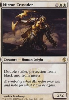 Mirrodin Besieged Foil: Mirran Crusader