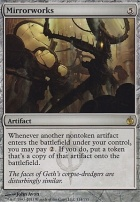 Mirrodin Besieged Foil: Mirrorworks