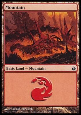 Mirrodin Besieged: Mountain (152 A)