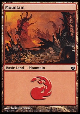 Mirrodin Besieged: Mountain (153 B)
