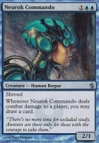 Mirrodin Besieged Foil: Neurok Commando