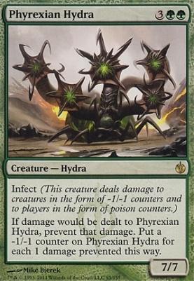 Mirrodin Besieged Foil: Phyrexian Hydra