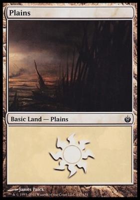 Mirrodin Besieged: Plains (147 B)