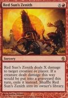 Mirrodin Besieged Foil: Red Sun's Zenith