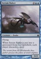 Mirrodin Besieged Foil: Serum Raker