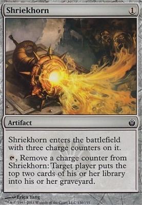 Mirrodin Besieged: Shriekhorn