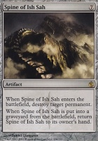 Mirrodin Besieged Foil: Spine of Ish Sah