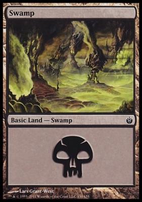 Mirrodin Besieged: Swamp (150 A)