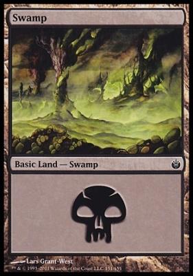 Mirrodin Besieged: Swamp (151 B)