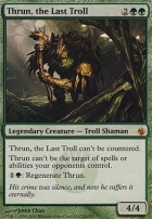 Mirrodin Besieged Foil: Thrun, the Last Troll