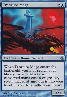 Mirrodin Besieged: Treasure Mage