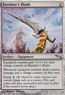 Mirrodin Foil: Banshee's Blade